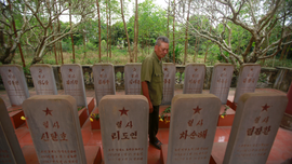 Vietnam memorial to North Korea pilots marks bygone alliance