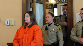 Iowa mom gets life for death of baby son found in swing