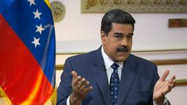 The Latest: Venezuela's Maduro closes Brazil border