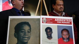 The Latest: 2nd person sought in California boy's 1990 death
