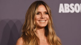 Heidi Klum is already prepping for her next Halloween costume