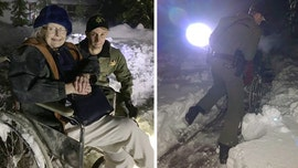 California woman rescued from powerless, snowed in home by sheriff's deputy