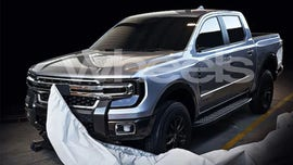 Suspected 2021 Ford Ranger spotted on the street