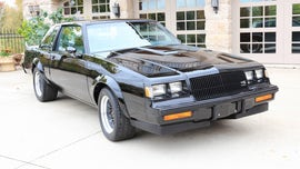 1987 Buick GNX muscle car driven just 8.5 miles sold for $200,000