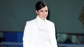 Pregnant Meghan Markle arrives in New York City for royal baby shower