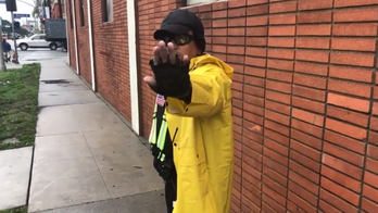 YouTube star 'Furry Potato' is shot while live-streaming near LA synagogue; security guard arrested