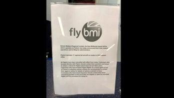 Hundreds stranded as British airline Flybmi folds