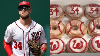 DC doughnut shop wants Bryce Harper back with Washington Nationals, offers him free doughnuts for life