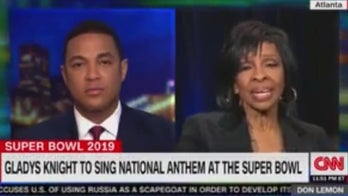 Don Lemon asks music legend Gladys Knight if she's worried about career after Super Bowl performance