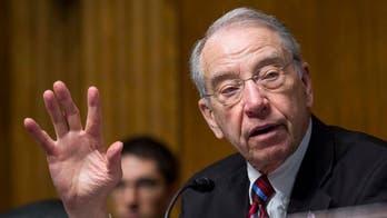 Grassley: Senate would 'probably' override Trump veto of defense bill over renaming military bases