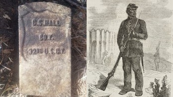 Civil War soldier's gravestone discovered, may offer vital clue to long-lost African-American cemetery