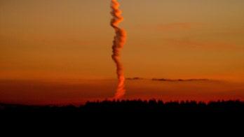 Strange spiral cloud baffles experts