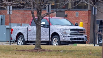 Electric Ford F-150 possibly caught on camera