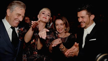 Nancy Pelosi recreates 'sarcastic' clap with Katy Perry and Orlando Bloom at LA gala