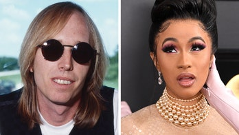 Cardi B thanks late Tom Petty by mistake after receiving congratulatory flower bouquet for Grammys win