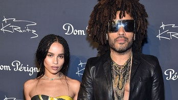 Lenny Kravitz comments on daughter Zoe's racy nude Instagram photo
