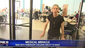 'Miracle' Parkinson's patient begins walking after years in wheelchair