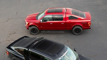 Mustang-style Ford F-150 bed cover is a fast (back) seller