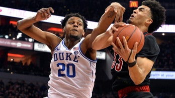 Duke climbs back from 23 down, stuns Louisville on eve of Coach K's 72nd birthday