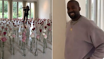 Kanye West surprises wife with a Kenny G serenade for Valentine's Day