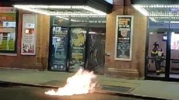 NYC theater complex evacuated after manhole covers catch on fire