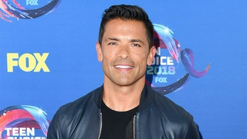 Mark Consuelos rushes to son's aid during wrestling match gone wrong