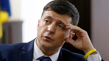Comedian who portrays Ukraine's president on TV series leads real race for country's leader