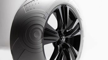 Forget whitewalls, Lexus has a car with all-white tires