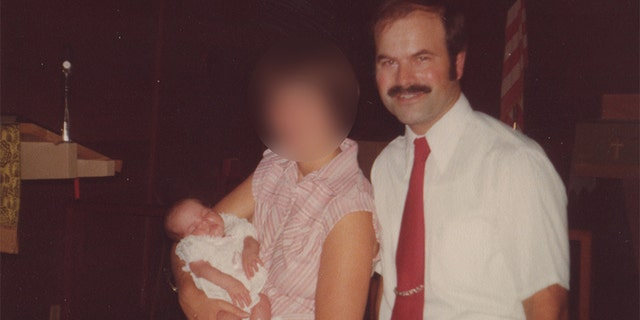 Dennis Rader with his wife and daughter in 1978.
