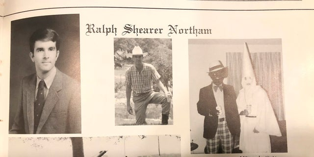 This image shows Virginia Gov. Ralph Northam's page in his 1984 Eastern Virginia Medical School yearbook. (Eastern Virginia Medical School via AP)