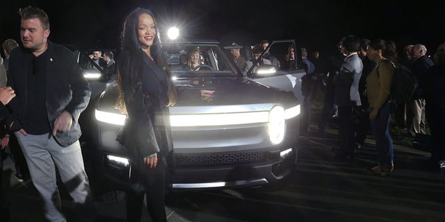 Popstar Rihanna, whose boyfriend Hassan Jameel is deputy vice chairman of Rivian investor Abdul Latif Jameel Co., attended the company's November launch event in Los Angeles.