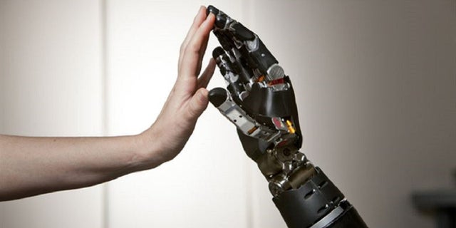 A suspect stole a 41-year-old victim's prosthetic arm in San Francisco, police said Tuesday. (Air Force Medicine)