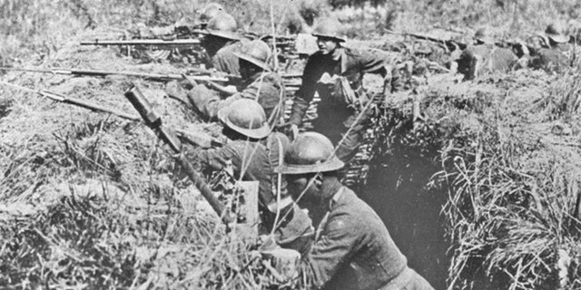 """The 369th Infantry Regiment, dubbed the """"Harlem Hellfighters"""", """"proved the capabilities of African American troops, serving the longest of any American combat troops in the trenches,"""" the National World War I Museum and Memorial says."""