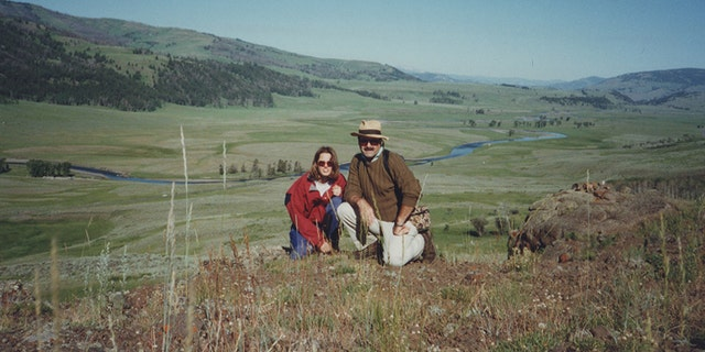 Kerri Rawson with Dennis Rader in 1995.