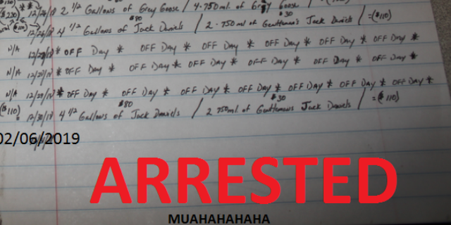 Missouri police arrested a man who kept journal entries of his stolen items.