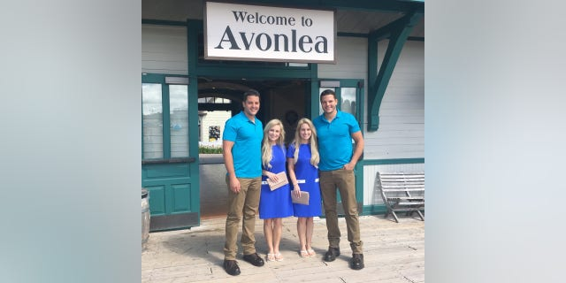 The couples honeymooned in Prince Edward Island, Canada.