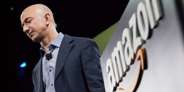 Amazon founder and CEO Jeff Bezos. (David Ryder/Getty Images)