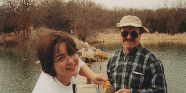 Kerri Rawson and Dennis Rader in 2002. — Courtesy of Kerri Rawson
