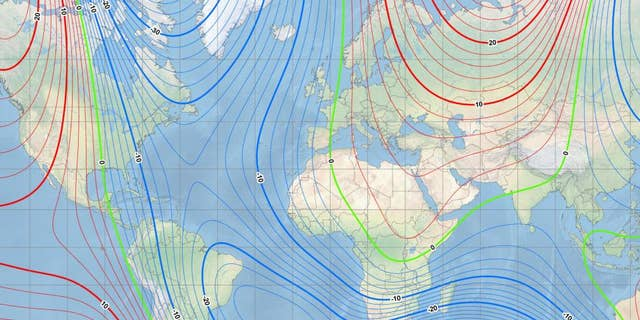 Scientists have updated the World Magnetic Model (WMM)