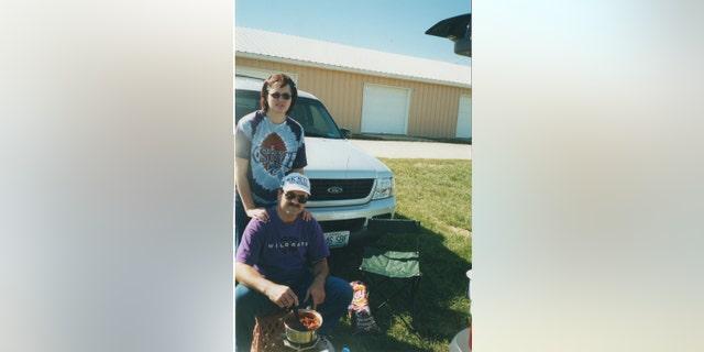 Kerri Rawson and Dennis Rader in 2002. — Courtesy of Kerri Rawson