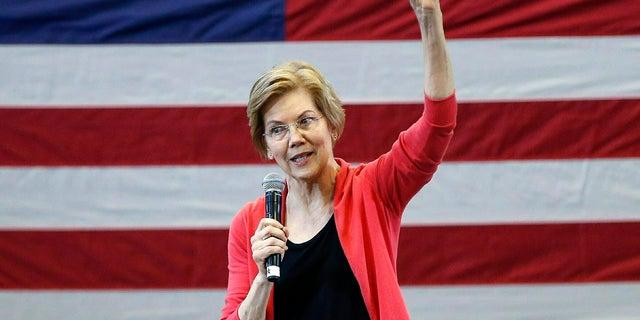 Sen. Elizabeth Warren, D-Mass., officially announced her 2020 presidential bid on Feb. 9.