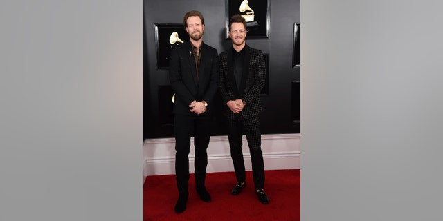 (L-R) Brian Kelley and Tyler Hubbard unfollowed each other briefly on social media.