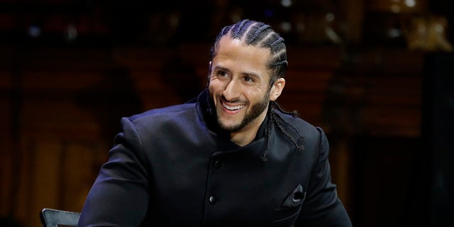 Former NFL football quarterback Colin Kaepernick in 2018.