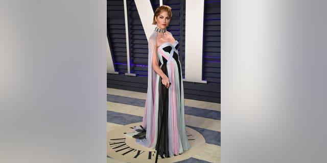 Selma Blair at the Vanity Fair Oscars Party on Sunday.