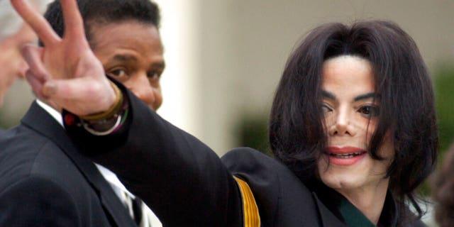 Michael Jackson in 2005