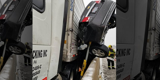 Driver miraculously survives terrifying Ohio freeway crash