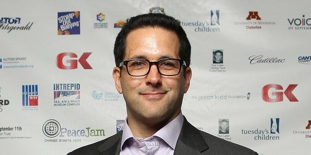 ESPN NFL insider Adam Schefter had internet gumshoes pondering who else could be tied up in the scandal surrounding Robert Kraft. (Photo by Mike McGregor/Getty Images for Cantor Fitzgerald)