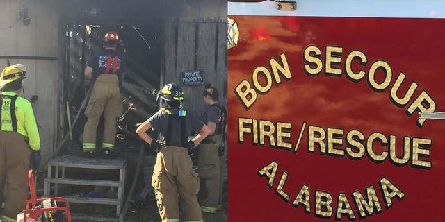 Firefighters were able to find a Bible in the wreckage but not much else after a fire destroyed a Bon Secour home in January.