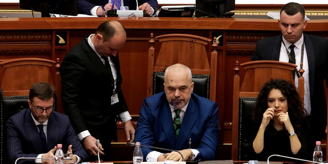 According to the center-right Democratic party, the reaction of Paloka came due to alleged constant mockery from Rama during previous parliament sessions.