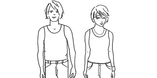 Employees are required to wear at least a tank top and shorts.
